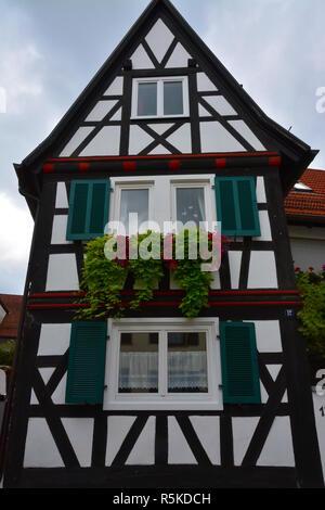 half-timbered house in hinterstädel jockgrim