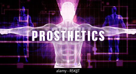 Prosthetics - Stock Photo