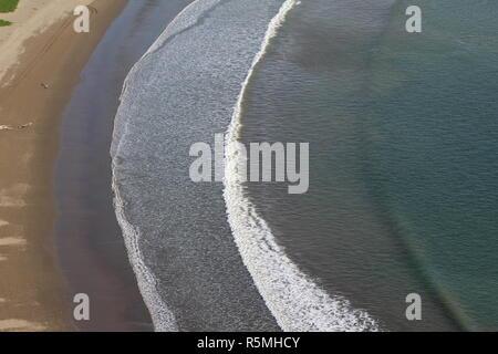 Pacific ocean beach - Stock Photo