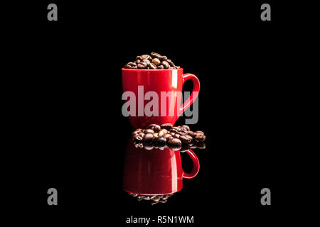 Coffee in Cup - Stock Photo