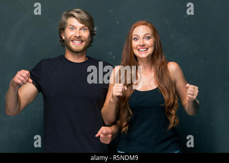 The love, family, sports, entretainment and happiness concept - Stock Photo