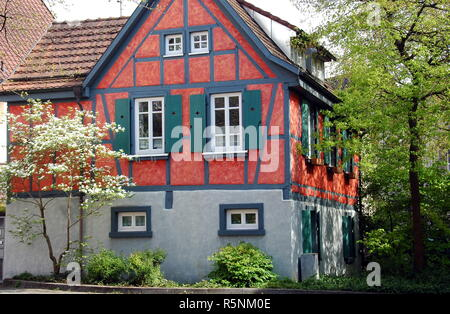 half-timbered house in bretten