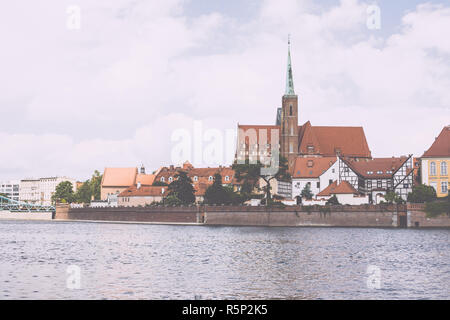 Poland Wroclaw city architecture - Stock Photo