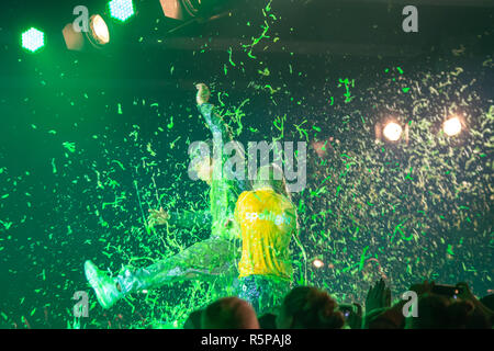 DORTMUND, Germany - December 1st 2018: Spotlight Cast at Nickelodeon Slimefest 2018, the first Slimefest in germany Credit: Markus Wissmann/Alamy Live News - Stock Photo
