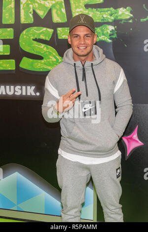 DORTMUND, Germany - December 1st 2018: Pietro Lombardi (german singer) at Nickelodeon Slimefest 2018, the first Slimefest in germany Credit: Markus Wissmann/Alamy Live News - Stock Photo