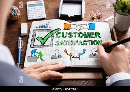 Customer Satisfaction Survey Concept - Stock Photo