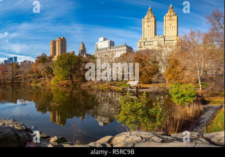 Central Park, New York City, late November 2018 - Stock Photo