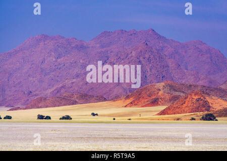 namibia mountain d707 landscape namib - Stock Photo