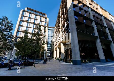 Bloomberg European Headquarters in London, England United Kingdom UK - Stock Photo