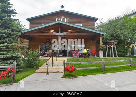 The ULU Factory, Anchorage, Alaska, USA - Stock Photo