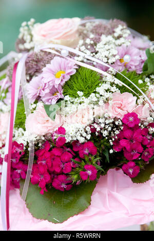 bridal flowers, wedding bouquet - Stock Photo