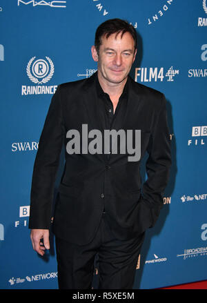 London, UK. 02nd Dec, 2018. Jason Isaacs attends Annual ceremony working to highlight and reward the best, most innovative and creative independent film-makers in the UK, at Old Billingsgate Market Credit: Nils Jorgensen/Alamy Live News - Stock Photo