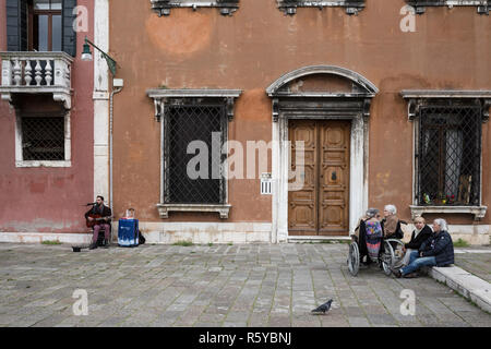Venice, Italy on April 30, 2016. - Stock Photo