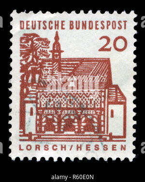 Postage stamp from the Federal Republic of Germany in the German buildings from twelve centuries, small size series issued in 1965