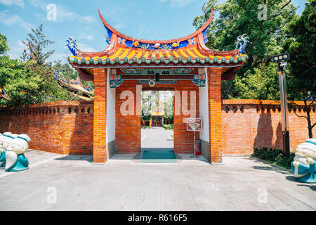 Taipei, Taiwan - April 25, 2018 : Confucius Temple - Stock Photo