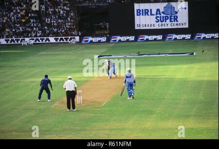 India Srilanka Cricket Match, Wankhede Stadium, Mumbai, Maharashtra, India - Stock Photo
