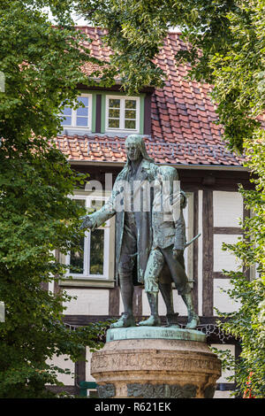 city quedlinburg cityscapes - Stock Photo