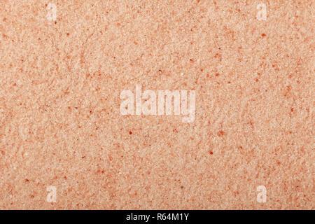 Close up background of pink Himalayan salt - Stock Photo