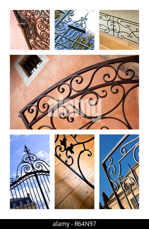 Gates and handrails