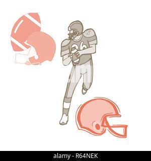 American Football 2a.jpg - R64NEY - Stock Photo