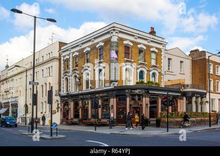 The Elgin, Ladbroke Grove, Notting Hill - Stock Photo