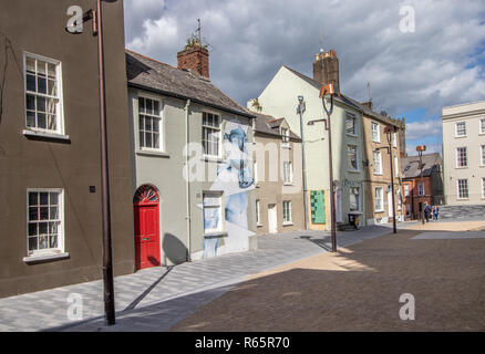Image of Waterford City Street in County Waterford Ireland - Stock Photo