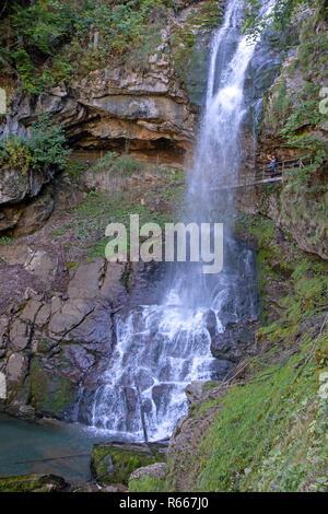 Giessbach Falls - Stock Photo