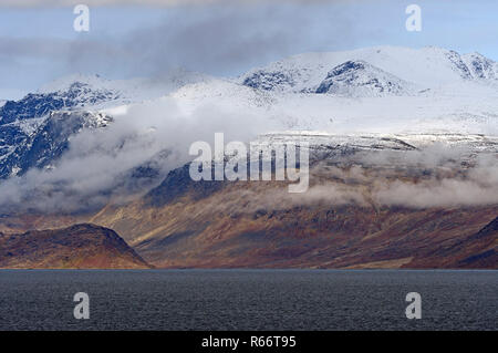 Dramatic Peaks on the Coast - Stock Photo