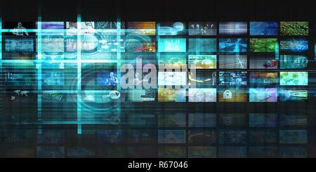 Application Architecture - Stock Photo