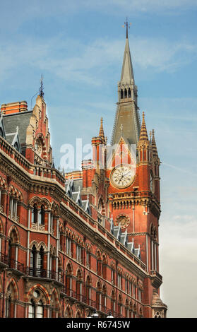 Saint Pancras station - Stock Photo