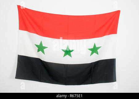 the flag of Iraq - Stock Photo