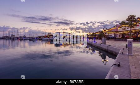 Limassol Marina, Cyprus - Stock Photo