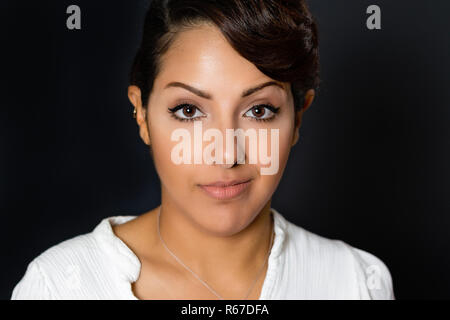 Facial Expression Woman - Stock Photo