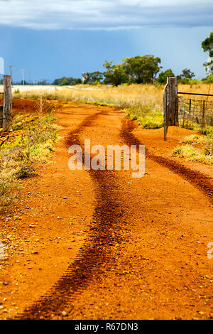 outback at dubbo new south wales australia - Stock Photo