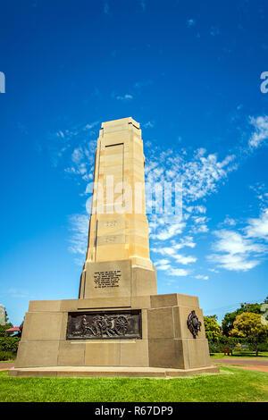 victoria park in dubbo new south wales australia - Stock Photo
