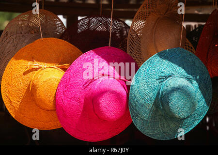 Hats for sale - Stock Photo