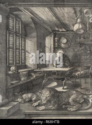 Albrecht Drer, Saint Jerome in His Study.jpg - R68HTB 1R68HTB - Stock Photo