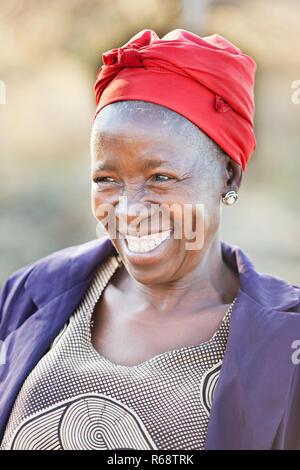 african senior citizen woman - Stock Photo