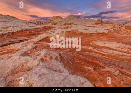 Dawn, White Pocket, Vermillion Cliffs National Monument, Arizona