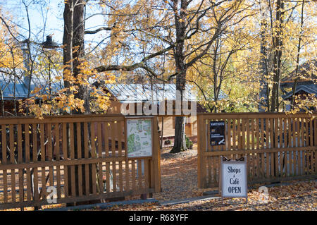 The Back Entrance to The Old Stables in Tampere Finland - Stock Photo