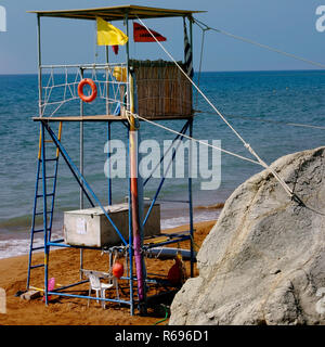 Lifeguard Post Station,Beach Safety ,Rescue, - Stock Photo