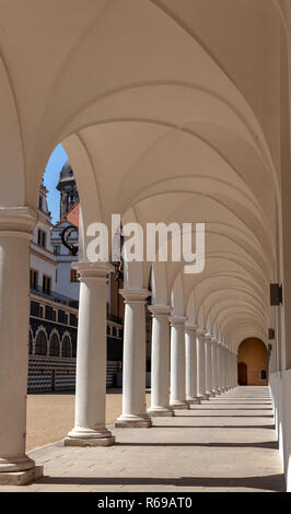 Arcades At The Stable-Yard In Dresden - Stock Photo