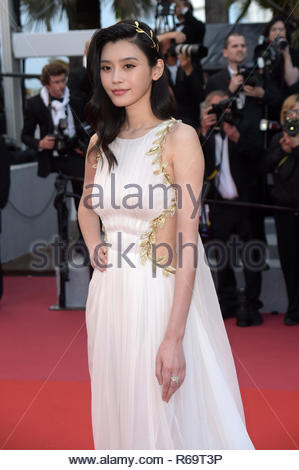 Ming Xi cannes 20-05-2018 - Stock Photo