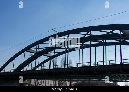 Hardenberg Bridge Dortmund - Stock Photo