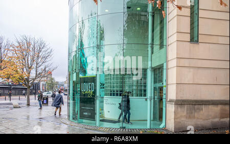 The Laing Art Gallery in the centre of the city of Newcastle upon Tyne - Stock Photo