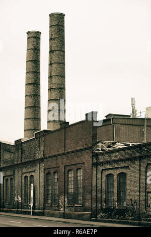 Industrial Chimney - Stock Photo