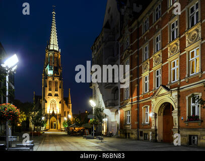 Church of the Immaculate Conception of the Blessed Virgin Mary in Katowice - Stock Photo