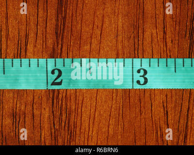 Tailor tape ruler in Cun (Chinese Inch) - Stock Photo