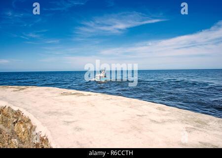Fishing Cutter In The Baltic Sea