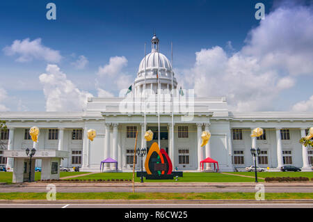 Colombo City Town Hall Building, The Headquarters Of Municipal Council And Other Municipal Offices In Colombo, Sri Lanka - Stock Photo
